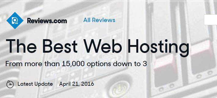 Reviews of Web Hosting